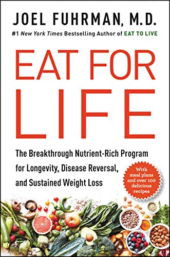 Eat For Life  - Book Cover Image