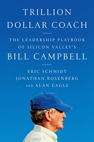 Trillion Dollar Coach  - Book Cover Image