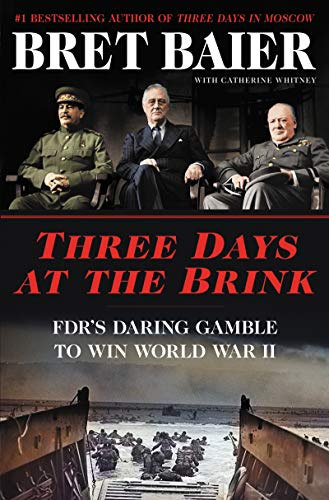 Three Days at the Brink  - Book Cover Image