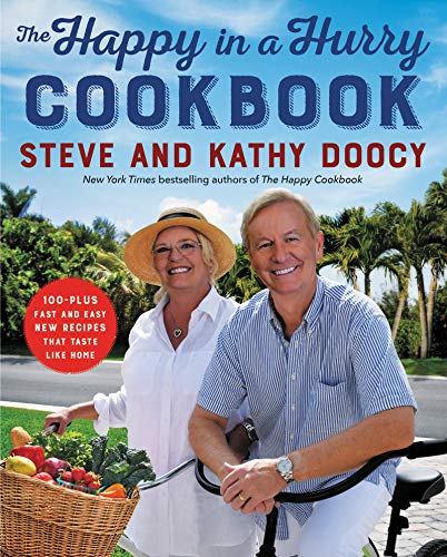 The Happy in a Hurry Cookbook  - Book Cover Image