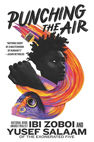 Punching the Air   - Book Cover Image