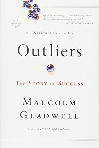 Outliers: The Story of Success - Book Cover Image