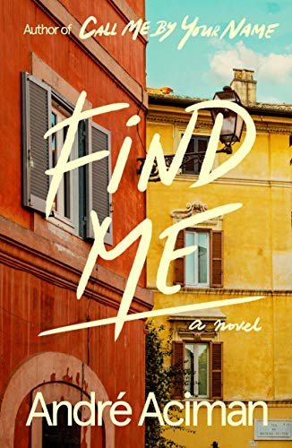 Find Me  - Book Cover Image