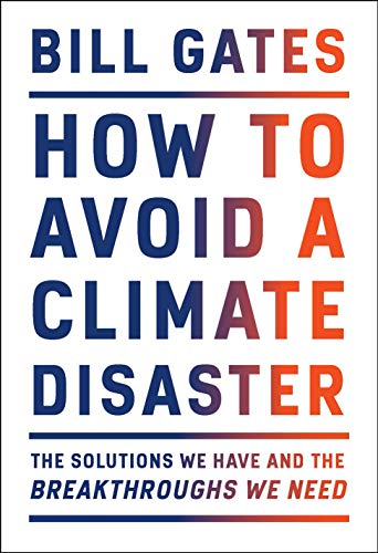 How To Avoid a Climate Disaster  - Book Cover Image