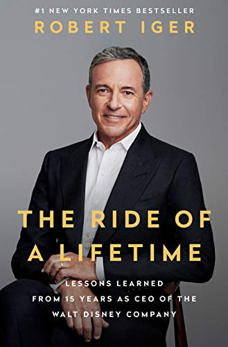 The Ride of a Lifetime  - Book Cover Image