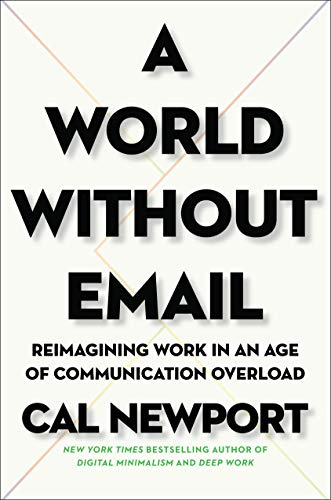 A World Without EMail  - Book Cover Image