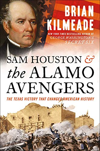 Sam Houston and the Alamo Avengers  - Book Cover Image