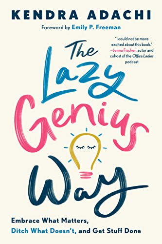 The Lazy Genius Way  - Book Cover Image