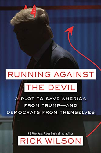 Running Against the Devil  - Book Cover Image