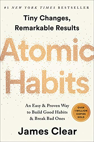 Atomic Habits  - Book Cover Image