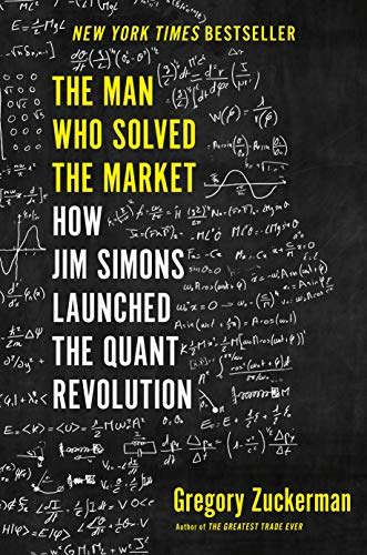The Man Who Solved the Market  - Book Cover Image