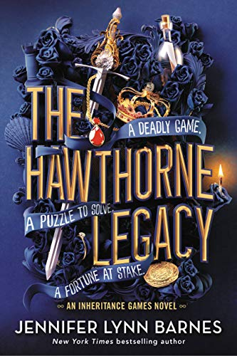 The Hawthorne Legacy   - Book Cover Image