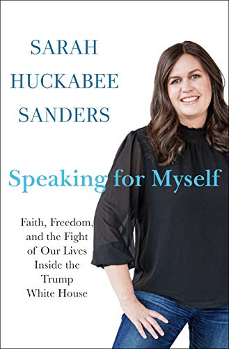 Speaking For Myself  - Book Cover Image