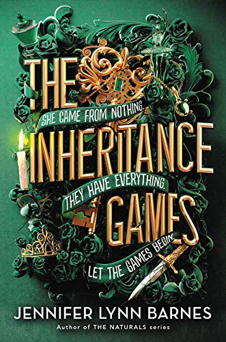 The Inheritance Games   - Book Cover Image