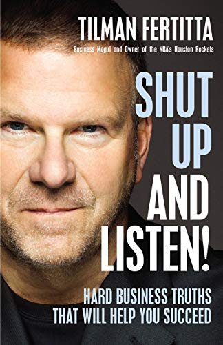 Shut Up and Listen  - Book Cover Image