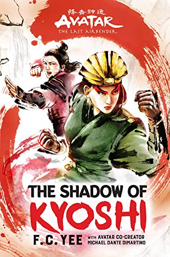 Avatar, The Last Airbender:  The Shadow of Kyoshi   - Book Cover Image