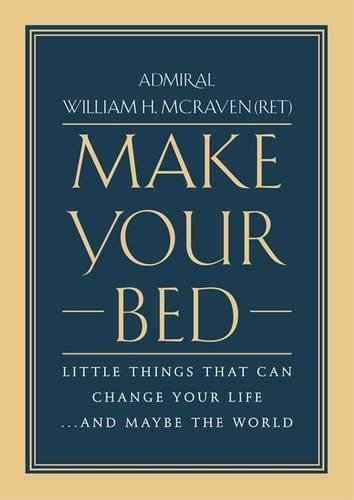 Make Your Bed  - Book Cover Image