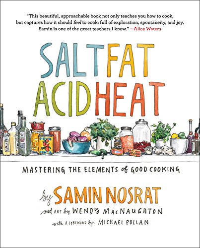 Salt Fat Acid Heat  - Book Cover Image