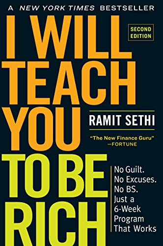 I Will Teach You to be Rich  - Book Cover Image