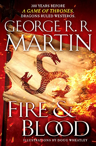 Fire and Blood  book cover image