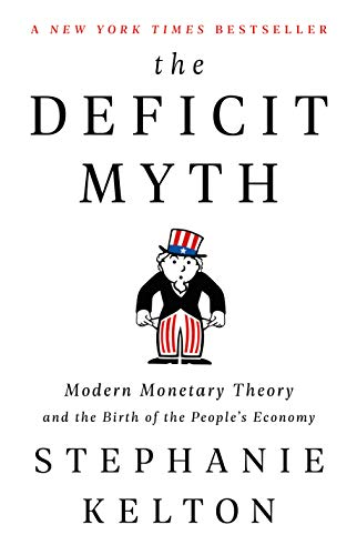 The Deficit Myth  - Book Cover Image