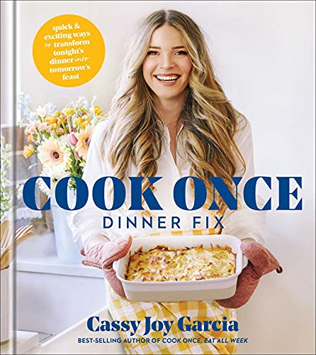 Cook Once Dinner Fix  - Book Cover Image