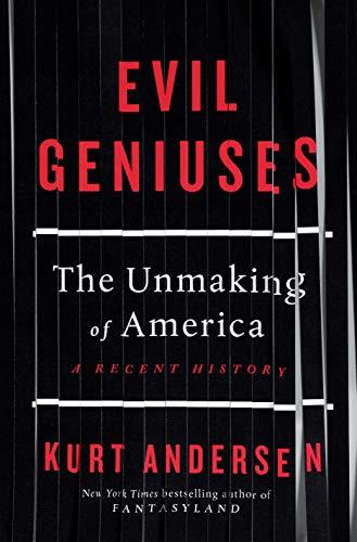 Evil Geniuses  - Book Cover Image