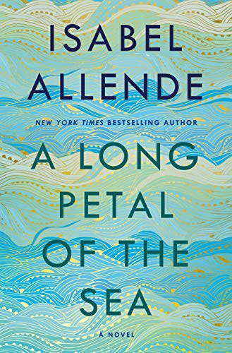 A Long Petal of the Sea  - Book Cover Image