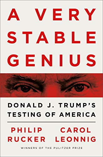 A Very Stable Genius  - Book Cover Image