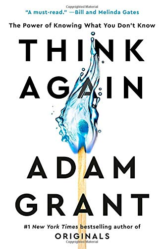 Think Again  - Book Cover Image