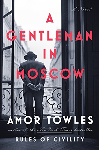 Book Cover - A Gentleman in Moscow